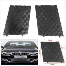 2 X Plastic Car Front Bumper Lower Mesh Grill Grille Trim Cover For BMW E60 E61
