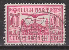 Nederlands Indie 8 CANCEL SOERABAJA PAKKETPOST Netherlands Indies luchtpost 1928