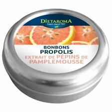 ♡♡ DIETAROMA ♡♡ Lot de 4 Boites Bonbons Propolis et Extrait Pépins Pamplemousse