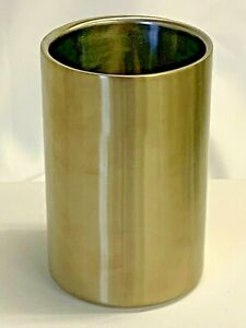 THIRSTYSTONE Wine Bottle Cooler NWT Double Wall Insulated Stainless Steel