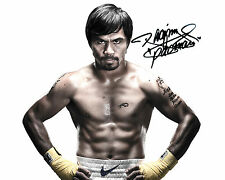 MANNY PACQUIAO - 10X8 PRE PRINTED LAB QUALITY PHOTO PRINT - FREE DELIVERY
