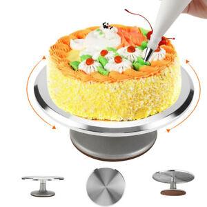 31cm Heavy Duty Kitchen Turntable Cake Stand Icing Rotating Cake Decorating UK