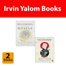 Irvin Yalom 2 Books Collection Set Becoming Myself, Love's Executioner NEW