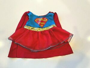 Build a Bear Supergirl Dress with Cape Outfit