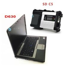 MB Star C5 With Newest Software 2017/12 with D630 Laptop Cars&Trucks Diagnosis