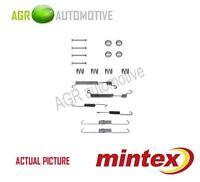 MINTEX REAR BRAKE SHOES SET FITTING KIT PIN SPRINGS GENUINE QUALITY - MBA770