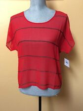 Volcom Ladies Chain Reaction Top Size Small