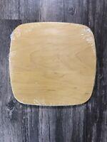 Longaberger Small Berry Basket WoodCrafts Lid - Sunwashed Yellow NEW