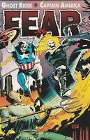 Marvel Comics Ghost Rider/Captain America: Fear #1 Marvel Comics