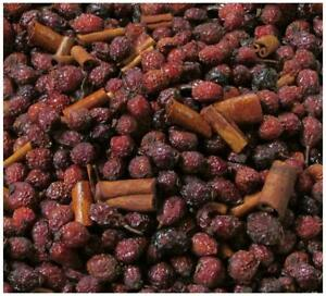 RoseHip and Cinnamon HIGHLY SCENTED POTPOURRI 2 cup primitive bowl fill simmer