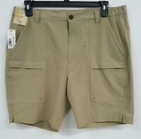 Roundtree & Yorke Caribbean Khaki Cargo Men's Shorts NWT $69.50 Choose Size