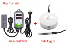 Inkbird Temperature Data Logger ITC-308 + IBS-TH1 Temp. Chart Recorder Probe AU
