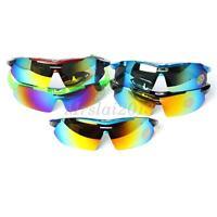 UV400 Polarized Cycling Glasses Eyewear Bike Sports Goggles Fishing Sunglasses