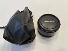 Quantaray Teleconverter for Minolta SLR Camera 2X AF Caps Made in Japan
