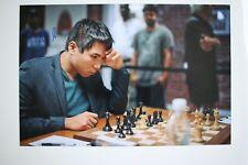 Gm Wesley tan signed 20x30cm foto autógrafo Autograph ip5 Grandmaster Chess