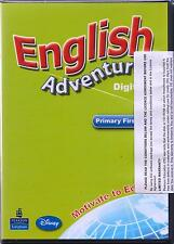 Longman ENGLISH ADVENTURE DIGITAL Level 1 Primary First Year Software @New@