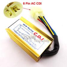 6 pin Gold Ignition CDI Box For 50 110 125 150 200 250cc ATV Quad Pit Dirt Bike