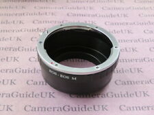 EOS-EOS M Adapter Ring for Canon EOS EF EF S Lens to EOS M Camera M5 M6 M3 M10