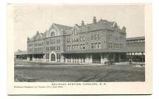 Frankierte Echtfotos vor 1914 mit dem Thema Eisenbahn & Bahnhof