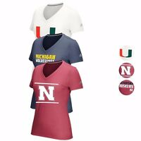 NCAA Sideline Climacool Aeroknit  V-neck Shirt Collection by ADIDAS Women's