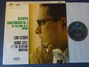 BEETHOVEN - EMPEROR CONCERTO LP, George Szell, Leon Fleisher, COLUMBIA SCX 3575
