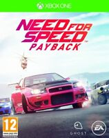 NEED FOR SPEED PAYBACK XBOX ONE EN ESPAÑOL CASTELLANO FISICO NUEVO PRECINTADO