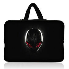 "14"" Cool Netbook Laptop PC Sleeve Case Bag+Hide Handle For Dell Alienware M14x"