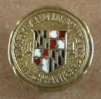 Vintage Maryland Mechanical Institute Lapel Pin Trockenbrot Baltimore 1914 ?