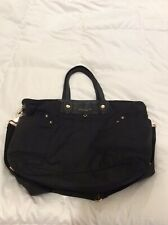 Marc Jacobs Nylon Eliz-A-Baby Diaper Bag Black