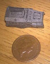 Small thin card German WW2 sdkfz 250 halftrack 1970s roughly N Gauge