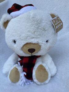 """Hallmark Aspen the Bear Polar Bear Teddy Bear Super Soft Plush 14""""  2017 NEW"""