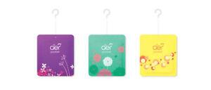3 different flavour Godrej Aer Pocket Bathroom Fragrance packets  - AIR FRESHNER