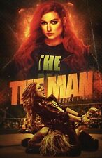 WWE Becky Lynch The Man Poster! LAST ONE!!!