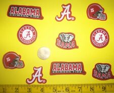 New! Cool!! Alabama Elephants IRON-ONS FABRIC APPLIQUES IRON-ONS