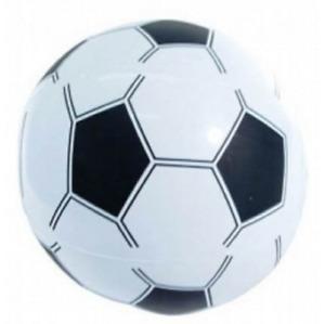 KIDS INFLATABLE FOOTBALL 35 CM - BLOW UP BEACH BALL FUN SOCCER PARTY BAG FILLER