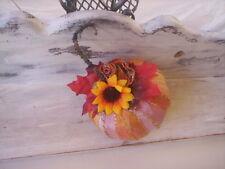 Fabric pumpkin/Handmade pumpkin/Autumn pumpkin/Pumpkin ornament/Full pumpkin
