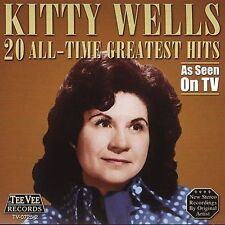 """KITTY WELLS, CD """"20 ALL TIME GREATEST HITS"""" NEW SEALED"""