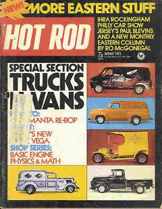 Hot Rod 1973 Aug truck van opel manta vega penton race