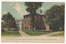 Physical, Engineering Laboratory UNIVERSITY OF MICHIGAN UM Ann Arbor MI Postcard