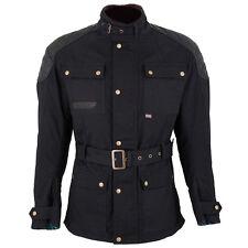 Spada Staffy wax jacket, black (S - XXL)