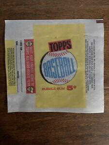 1960 Topps Baseball Cards 5 Cent Wax Wrapper Reprint Rare