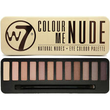 W7 Makeup Make Up Eye Shadow Palette Naked Nude Natural Colours - Colour Me Nude