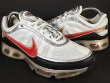 Nike Air Max 360 White Black Orange Silver Mens Size 8.5 Rare 315380-161