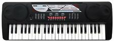 Digital 49 Tasten Einsteiger Keyboard E-Piano Klavier 16 Sounds 10 Rhythmen Mic