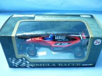 TEAMSTERS Fiat Formula One 1 Red Racing Car Diecast Pull Back & Go Action Toy