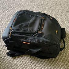 Case Logic SLRC-206 SLR Camera and 16-Inch Laptop Backpack Black EUC