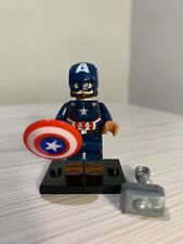 Marvel CAPTAIN AMERICA Custom Brick Lego Compatible Minifigure! UK Shipping!