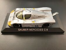 MAX MODELS 1/43 SAUBER MERCEDES C9 #63 Damaged