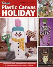 Plastic Canvas Holiday, Nativity Tissue Cover & 40+ More Projects craft book NEW