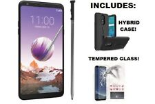 LG Stylo4 -Q710MS-32GB-Black-UNLOCKED US & WORLDWIDE -Fingerprint ID-Android 8.1
